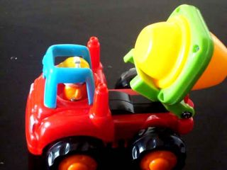 Baby Funny Amazing Gift Truck Car Toy Inertia Car Toy Kids Lovely Mixer Truck