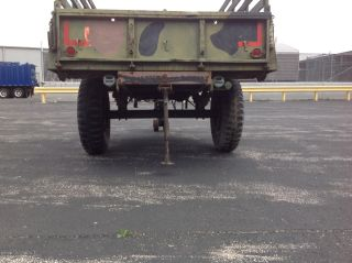 1968 Military Stevens Mfg M105A2 1 1 2 Ton Military Cargo Trailer