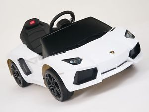 Lamborghini Aventador Battery Kids Ride on Car Electric Childrens Toy w Remote