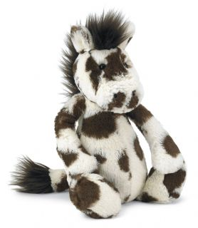 Jellycat Bashful Pony Medium Stuffed Animal Plush Horse