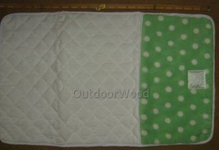 Scene Weaver Pickles Green Bubbles Baby Changing Pad