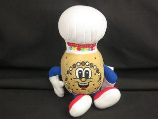 Great American Cookies Super Chef Hero Advertising Plush Stuffed Animal Toy