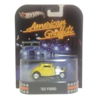 "American Graffiti ""32 Ford 2013 Retro Hot Wheels 1 64 Die Cast Toy Car X8907"