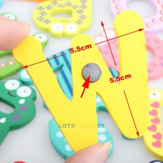 26 A Z Letter Letters Alphabet Kid Education Toy Fridge Magnets Stick Stickers