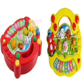 New Useful Popular Baby Kids Farm Animal Piano Music Developmental Toy Hot