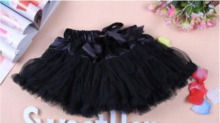 D002 Kids Girl Pettiskirt Skirt Dance Tutu Dress Free Headband 2 6 Years
