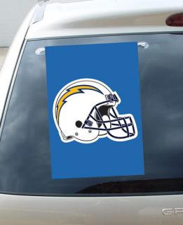 New San Diego Chargers Embroidered Garden Window Flag