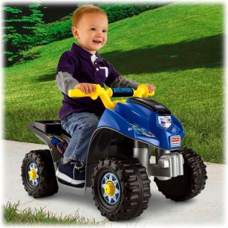 Fisher Price Power Wheels Batman Lil' Quad 6V ATV Kids Ride on X0075