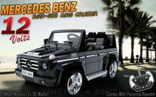 2013 Mercedes Benz Electric 12V Kids Ride on Car Jeep Truck Toy Remote Control