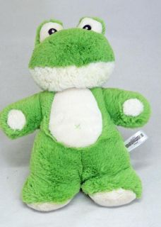 "Frog Snugems Flat Soft Plush Toy Korimco 12"" 30cm New"