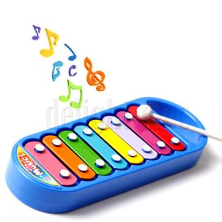 8 Note Children's Xylophone Kids Instrument Percussion Baby Toy
