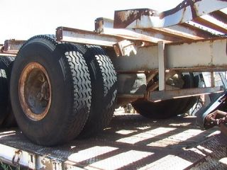 40 000 Pound 17' Tandem Axle Dually Big Rig Semi 18 Wheeler Trailer Dolley Axle