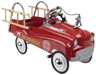 Little Tikes Instep Fire Truck Pedal Car Ride on Car