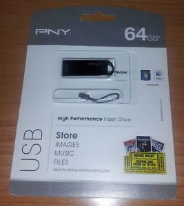 PNY 64GB Brand New High Performance USB Flash Drive