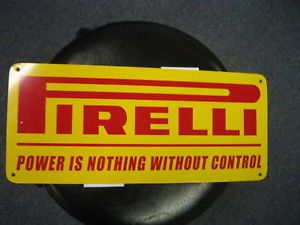 Pirelli High Performance Racing Tires Sign 1968