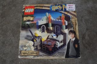 2002 Harry Potter Dobby's Release Lego Cont 70 Pcs Building Toy 4731 SEALED