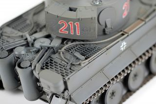 Vs Tank Pro 1 24 Scale German Tiger 1 Early Production RC Battle Tank Infrared