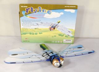 Battery Operated Flying Dragonfly Bedroom Decor Toys