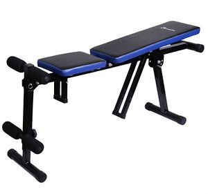 Sit Up Bench Dumbbell Chair AB Exercise Trainning Gym Work Out Multi Use Soozier