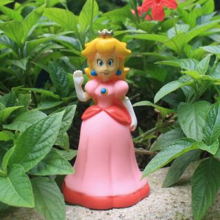 New Action Figure Super Mario Brothers Wii Princess Peach Toy 5""