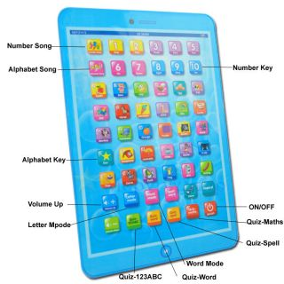 English Language Children Educational Study Learning Computer Machine Toys Y Pad