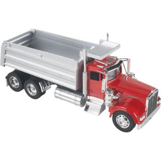 Die Cast Truck Replica Kenworth Dump Truck 1 32 Scale Red 10043