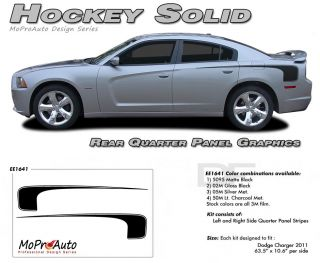 Hockey 1 Dodge Charger 3M Stripes Decals Graphics 2012