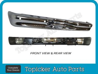 New Rear Step Bumper Chrome Bar 2007 2011 Ford Van E150 E250 E350 E450 Step w HO