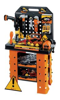 Beta Tools Childrens Kids Tool Kit Electric Drill Toy Work Bench Play Set 9547WS