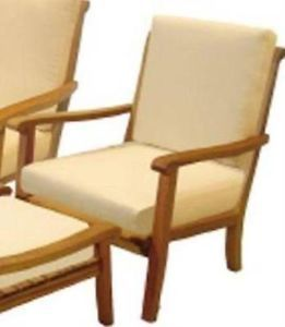 Hampton Bay  Teak Patio Lounge Chair Chair Only