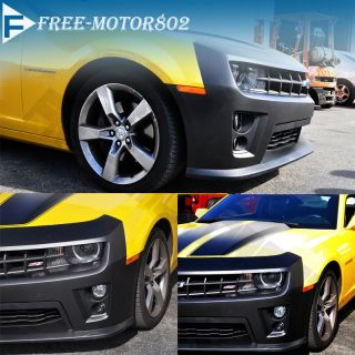10 Detail Actual Install Image Chevy Camaro ZL1 PP Front Bumper Cover Body Kit