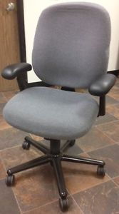Herman Miller Work Office Adjustable Heavy Duty Gray Fabric Chair