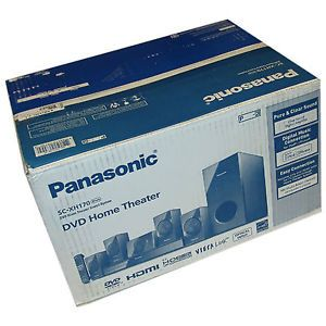 New Panasonic SC XH170 5 1 Channel DVD Home Theater Sound System SC XH170