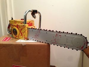 Halloween Leatherface Chainsaw Prop