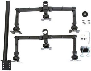 Monmount Hex Six LCD Monitor Desk Mount Stand Vesa 75 100 Screens Up to 22""