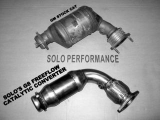 2008 2009 G8 GT GXP Solo Performance High Flow Cats Catalytic Converter LS3 L76