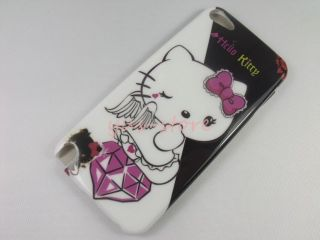 New Cute Hello Kitty Back Hard Cover Case Fr iPod Touch 5 5th 5g Gen iTouch 1