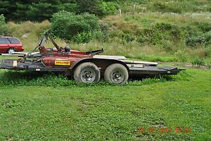 Heavy Duty Rollback 21' Car Hauler Trailer