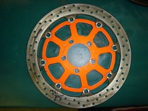 Suzuki GSXR Hayabusa Sunstar High Performance Disc Brake Rotor Orange