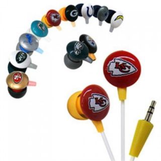 Official Licensed iHip NFL High Performance Noise Isolating Earphones