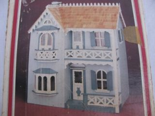 Vintage Whitney The Cambridge Charming Victorian Wood Dollhouse Kit Doll House