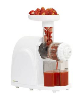 New Juicer Press White Big Boss Heavy Duty Vita Masticating Fruit Vegetables