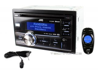JVC KW R900BT 2yr Wrnty Car Audio Stereo Double DIN CD  Bluetooth Receiver