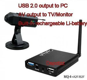 Wireless CCTV Spy Camera Home Security System USB DVR