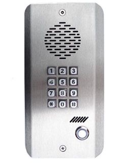 GSM Gate Opener Intercom Entry System Stainless Steel Keypad
