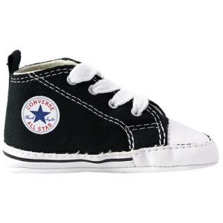 Converse Chuck Taylor All Stars Crib Kids Shoes Black footwear Baby All Sizes