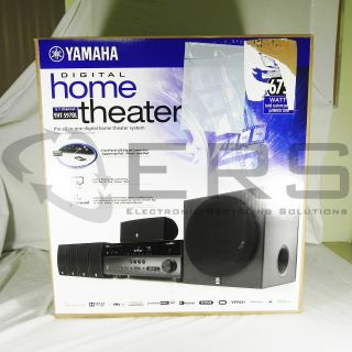 Yamaha YHT 597BL 5 1 Channel Home Theater Speakers Only 027108107325