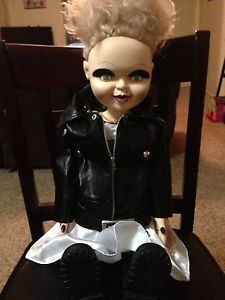 "Childs Play Scary Horror Movie Bride of Chucky Tiffany Doll 24 5"" Jennifer Tilly"