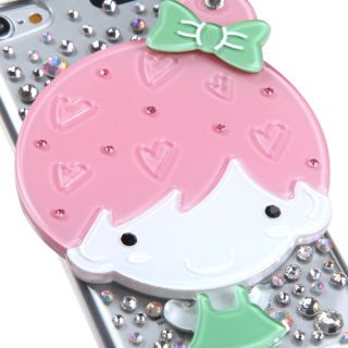Summer Girl Crystal 3D Mirror Bling Back Case Apple iPod Touch 5th Generation