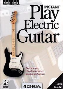 Learn How to Play Electric Guitar Instructional PC CDs Free US Shipping